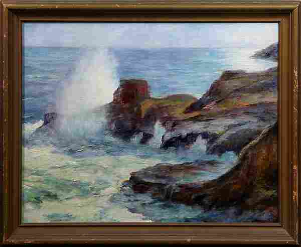 Paintings, Follower of Joseph Henry Sharp, Halama Blow