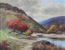 Painting, Robert Wood, Kerrville (Texas), 1952