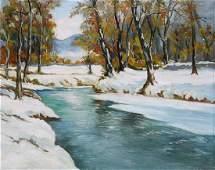 Painting, Walter Baum
