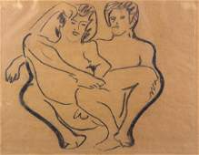 Work on Paper, Ernst Ludwig Kirchner