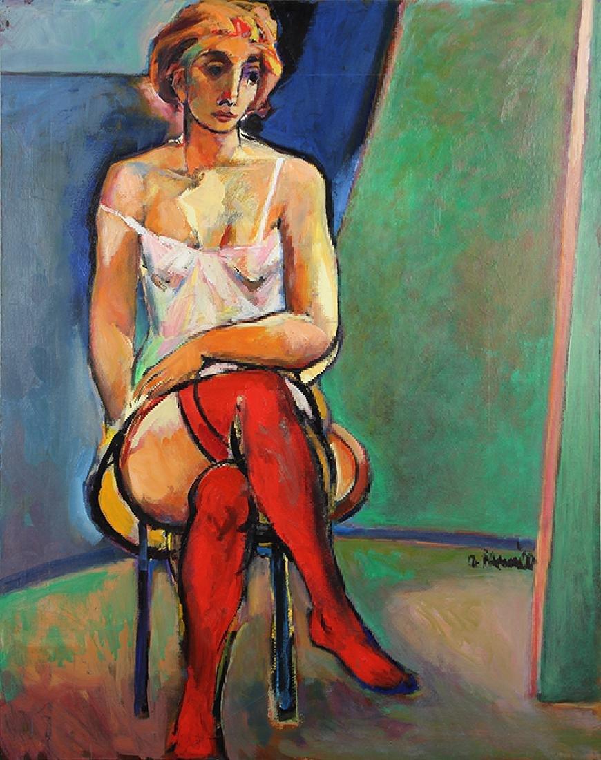 Painting, Oskar D'Amico