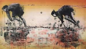 Print, Hung Liu