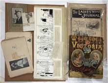 (lot of 6) 19th Century Ephemera Group, includes (4)