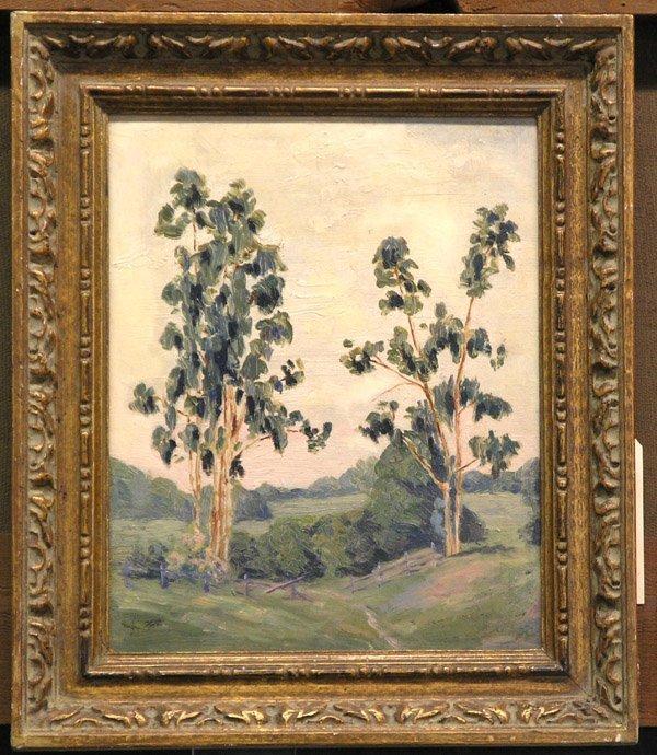 2: Painting, Eucalyptus Trees