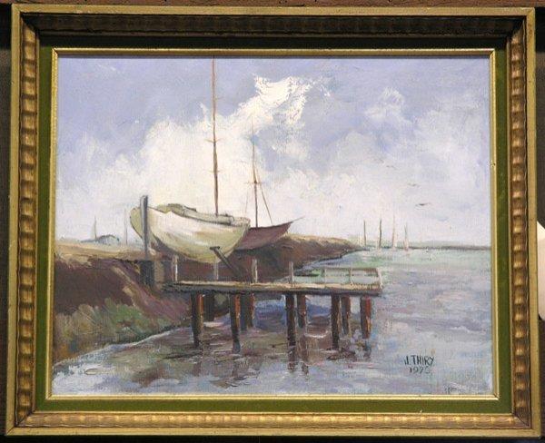6: Drydock Painting, J. Thiry