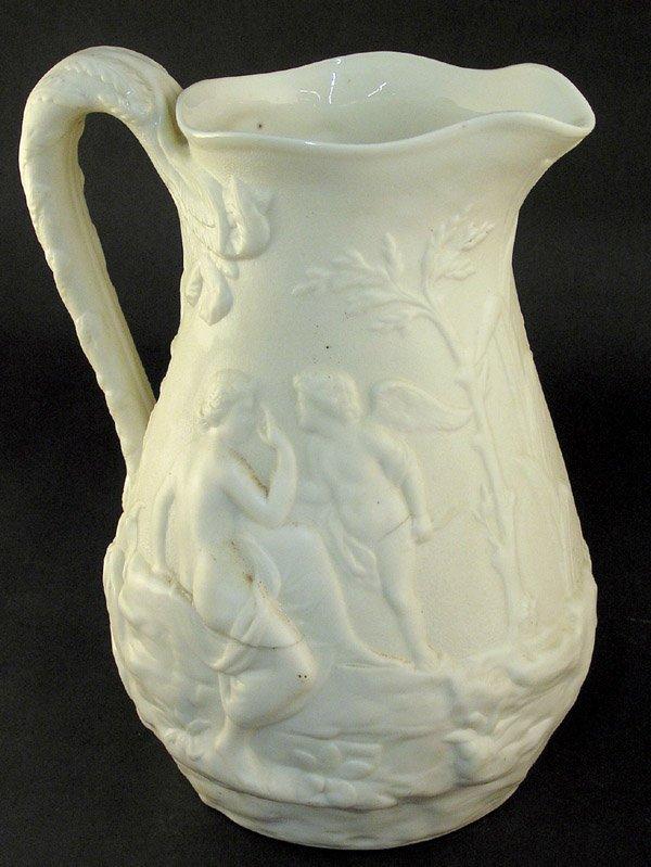 9: Parian ware pitcher maiden