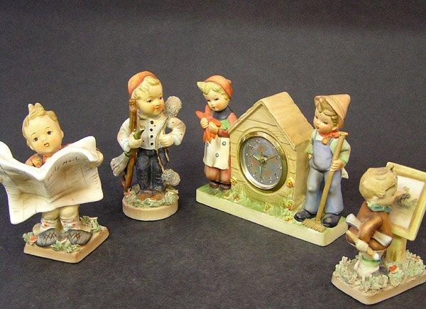 52: American Children figurines
