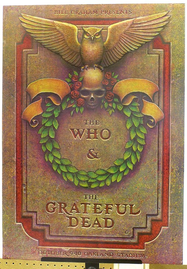 2006: psychedelic rock poster Grateful Dead