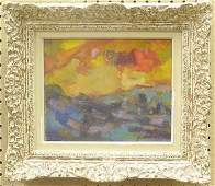 2248: Painting Abstract Landscape Casazza