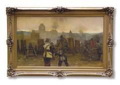 Painting Claus Meyer German