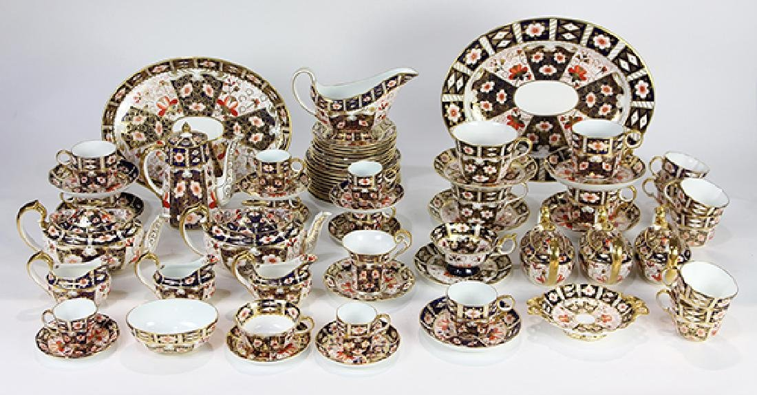 (lot of 67) Royal Crown Derby porcelain drinks service,