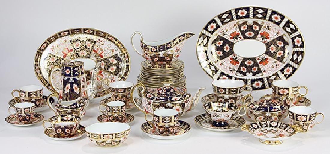 (lot of 67) Royal Crown Derby porcelain drinks service, - 4