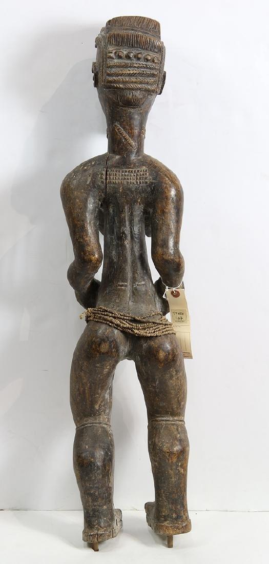 Baule, Cote d'Ivoire, female figure, possibly a - 3