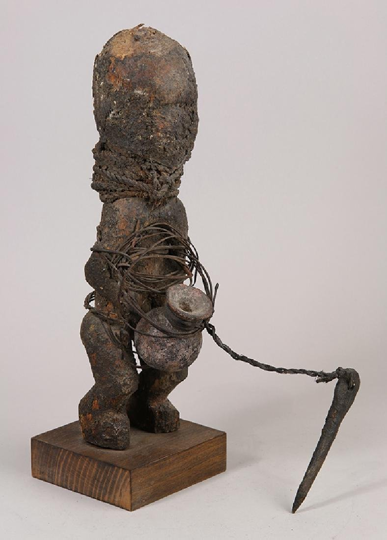 Benin Fon Power figure, 19th/20th century, a magic