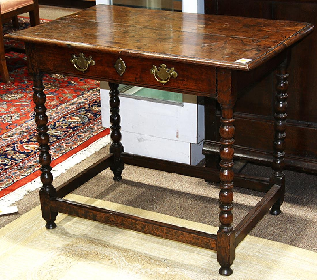 English William and Mary table