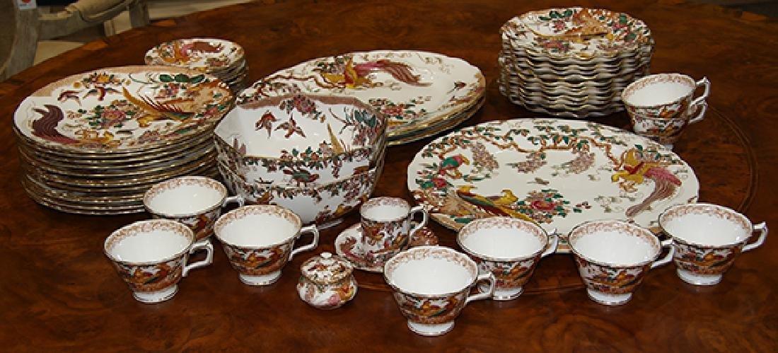 (lot of 59) Royal Crown Derby porcelain table service