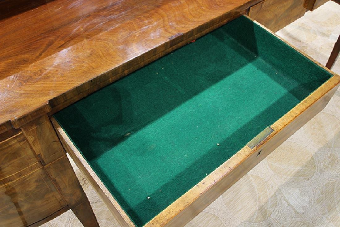 English Sheraton banded mahogany sideboard, early 19th - 6