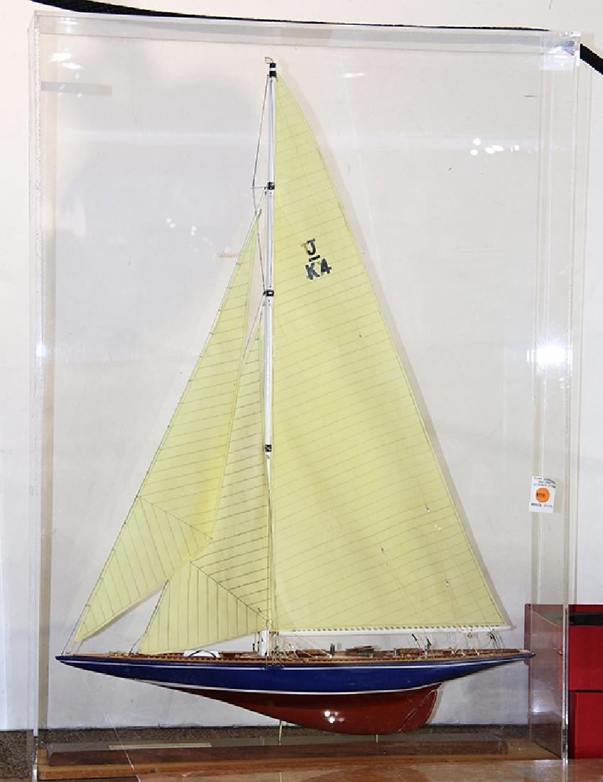 """Endeavour I"" ship model"