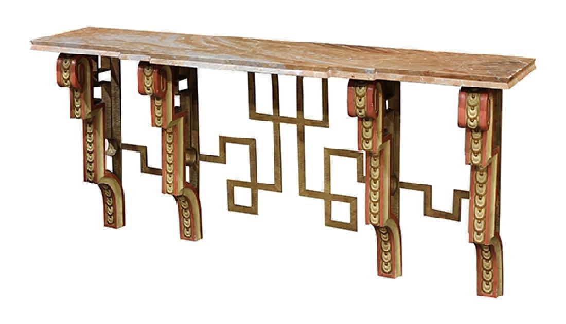 Italian Neoclassical style custom designed console - 2
