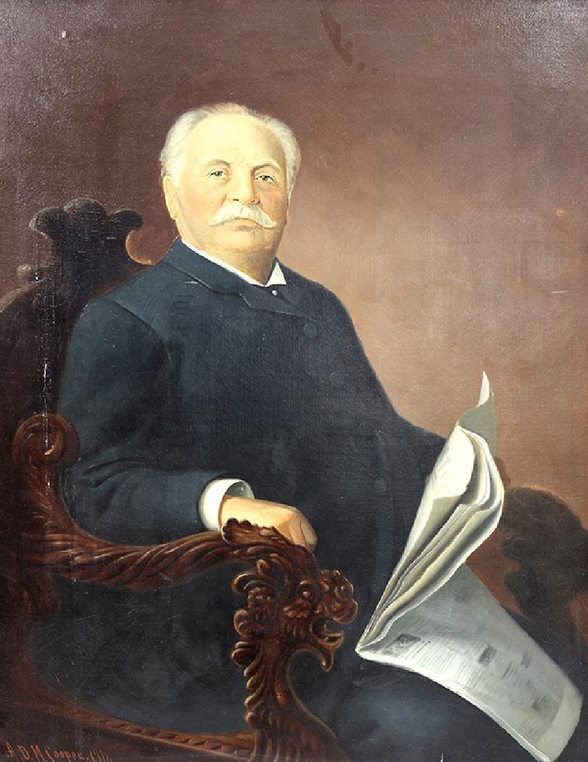 Painting, ADM Cooper