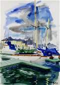 Watercolor, Lois Green Cohen