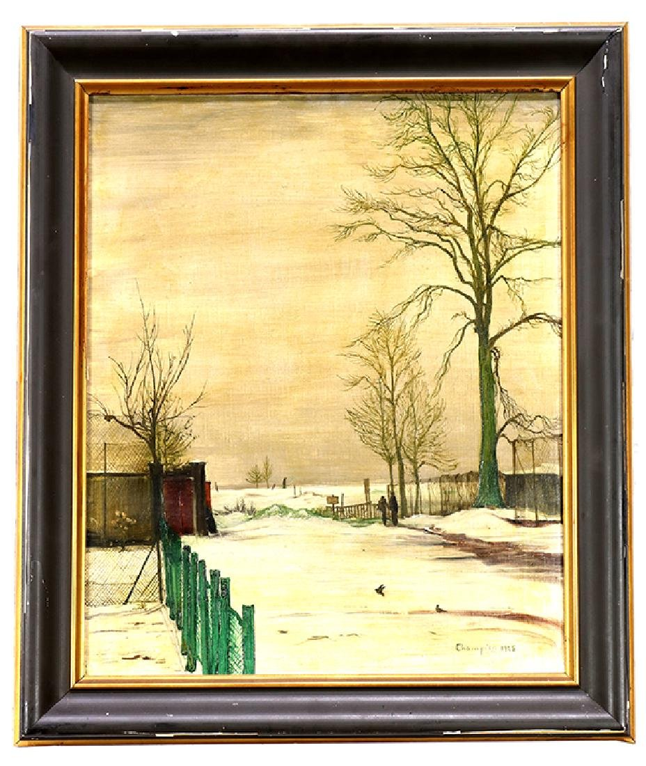 Painting, Theo Champion - 2