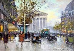 Painting Edouard Leon Cortes