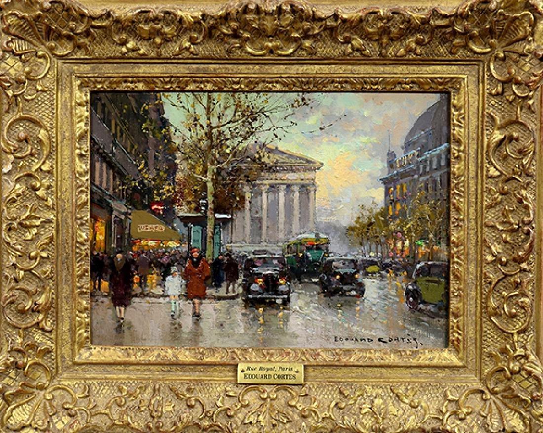 Painting, Edouard Leon Cortes - 2
