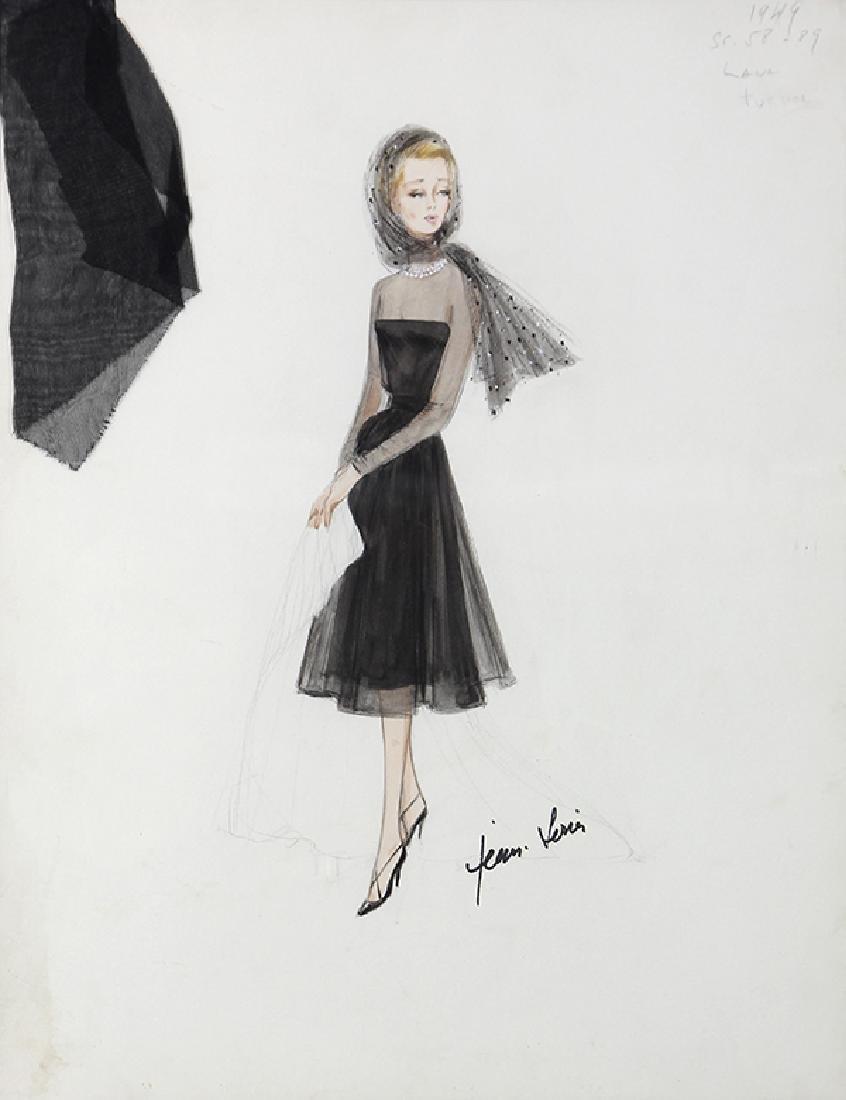 Jean Louis, Costume Design/Illustration for  Dorris Day