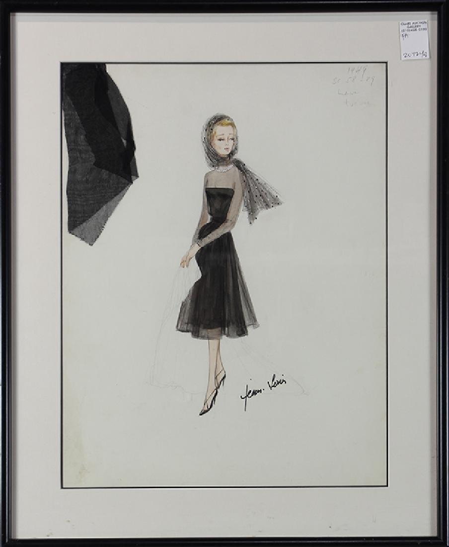 Jean Louis, Costume Design/Illustration for  Dorris Day - 2