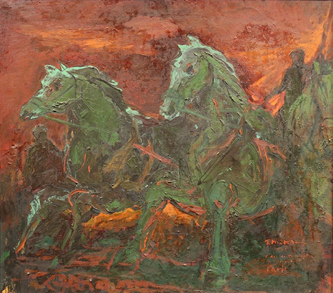 Painting, Takahiko Mikami