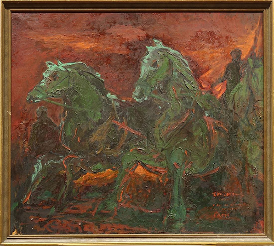 Painting, Takahiko Mikami - 2
