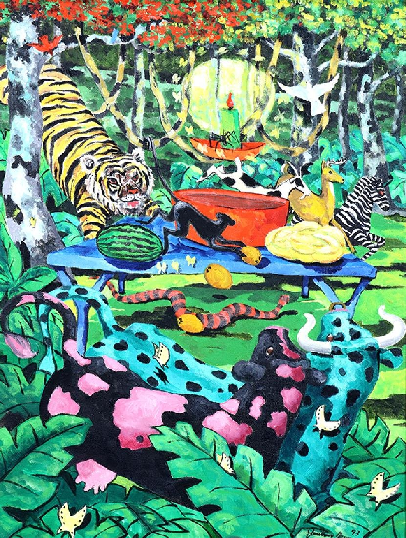 Painting, Jonothan Green