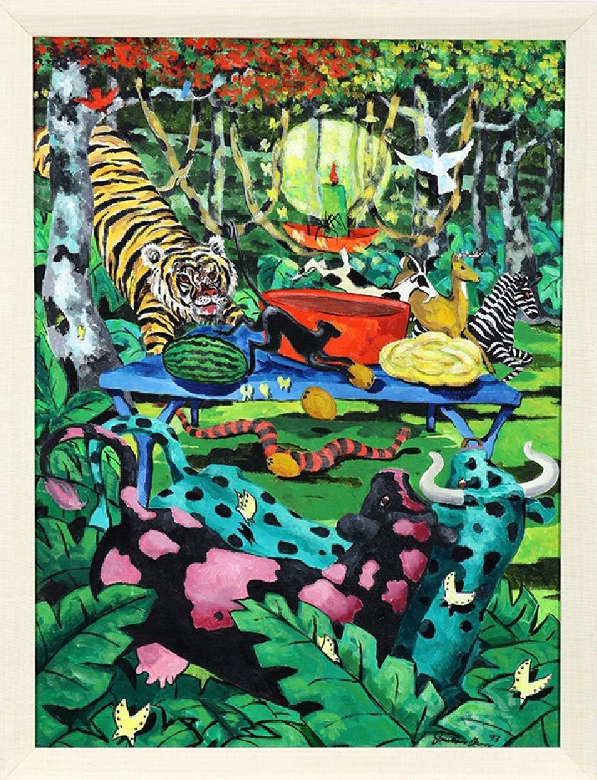 Painting, Jonothan Green - 2