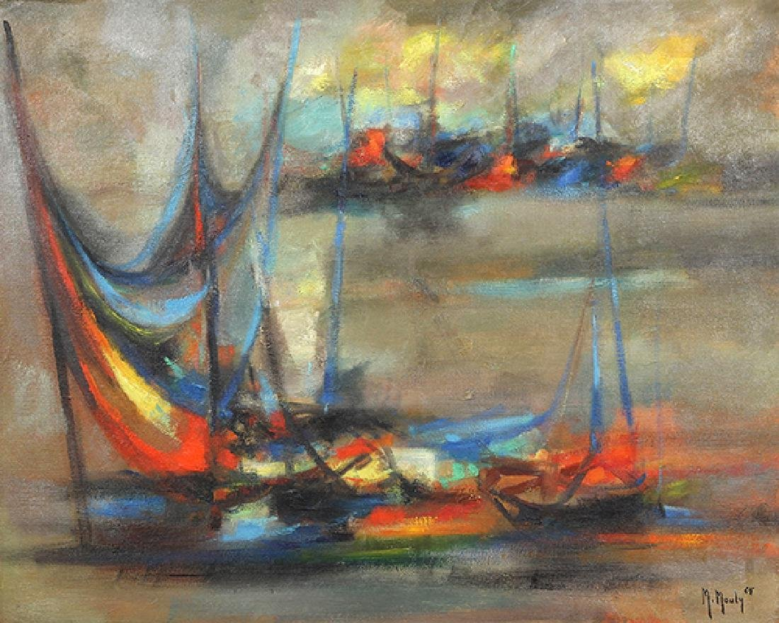 Painting, Marcel Mouly