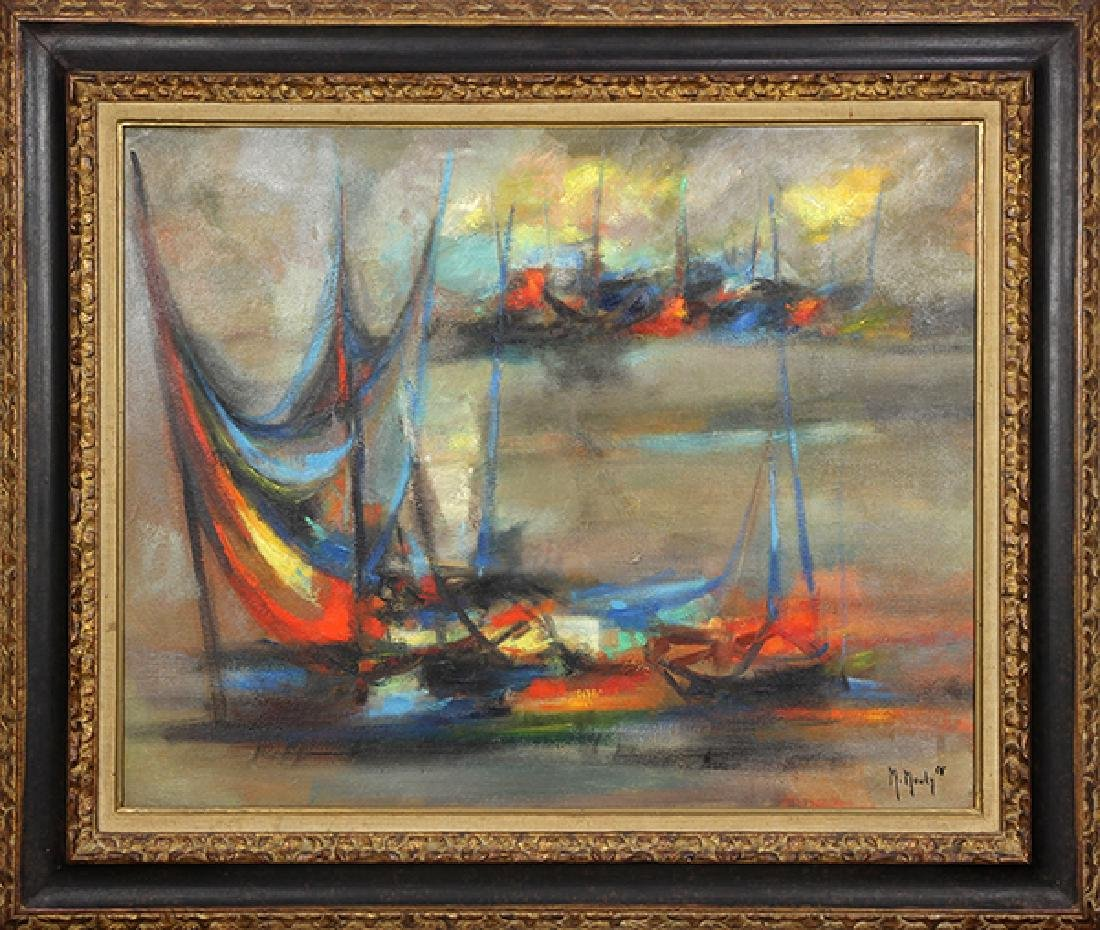 Painting, Marcel Mouly - 2