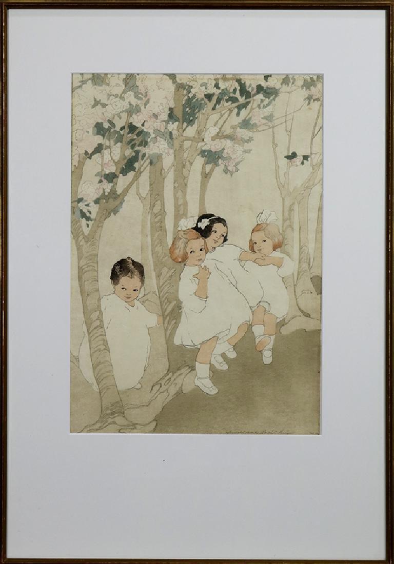 Print, Bertha Lum - 2