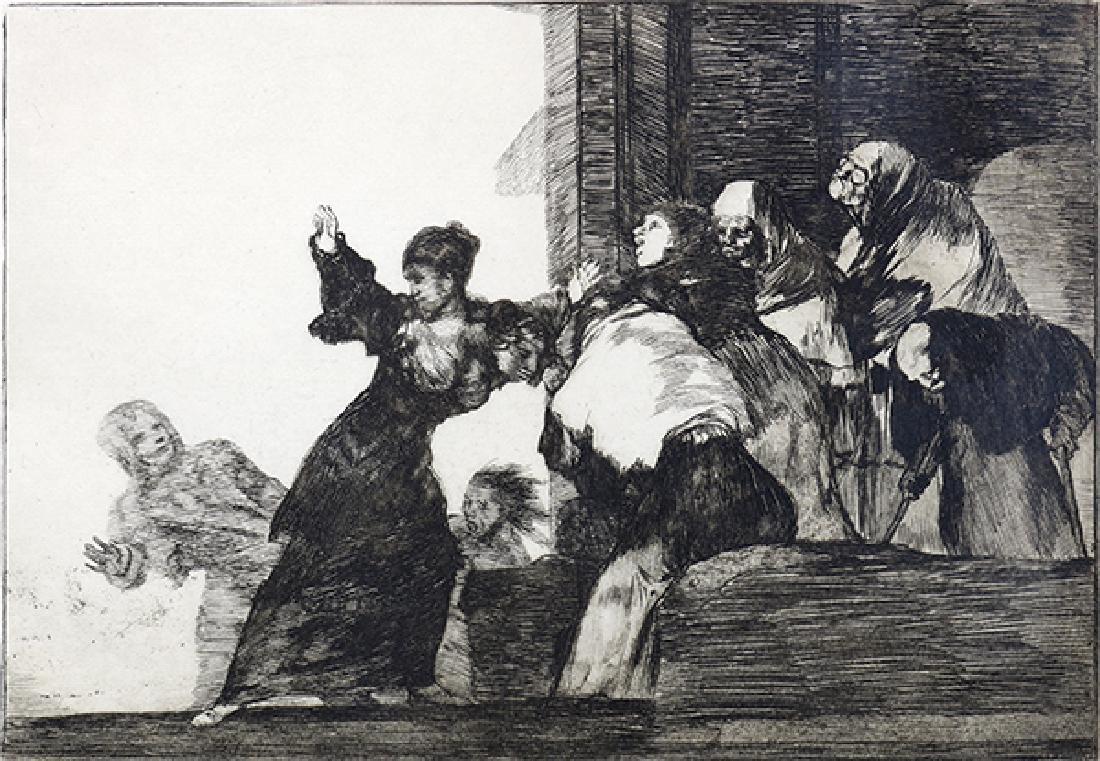 Print, Francisco de Goya