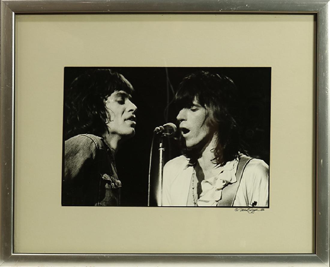 Photograph, Michael Zagaris, Mick Jagger and Keith - 2