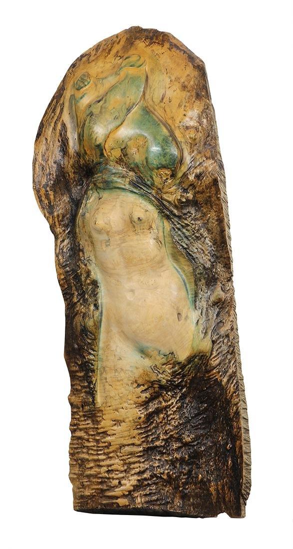 Wood sculptures,  Leo Osborne