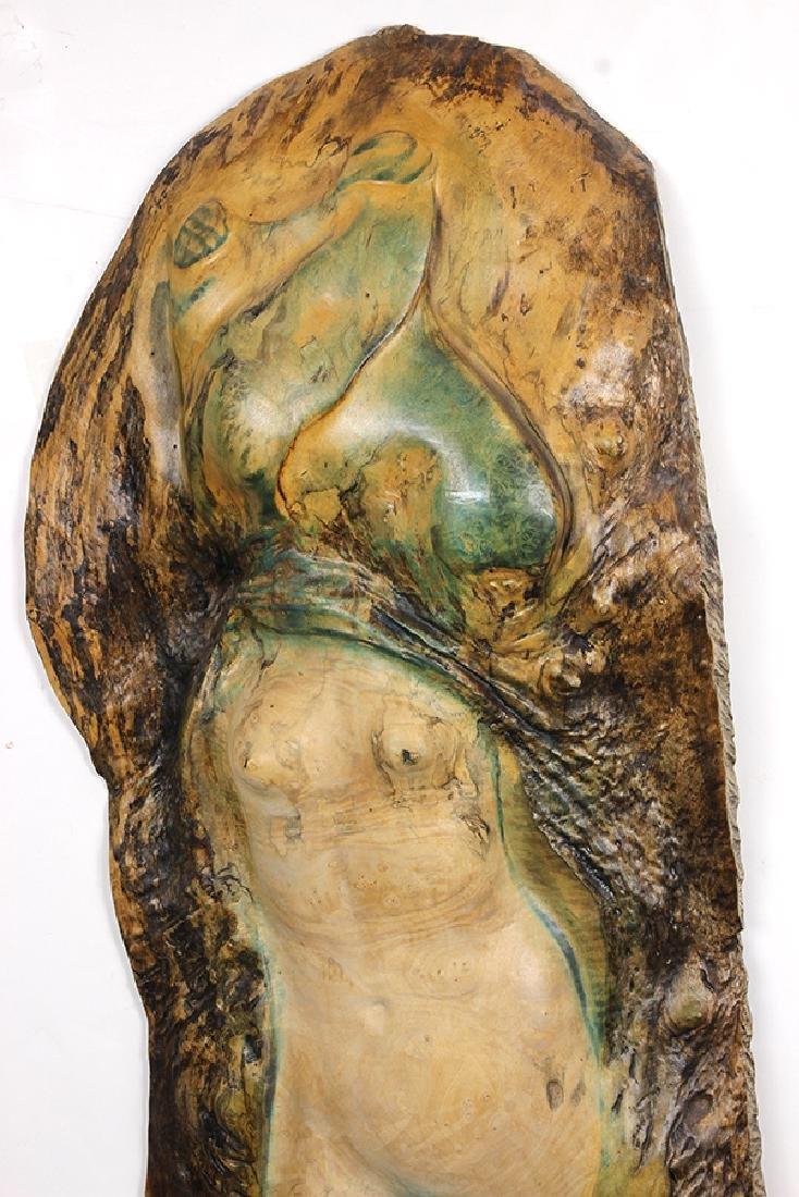 Wood sculptures,  Leo Osborne - 3