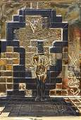 Relief Sculpture, Salvador Dali