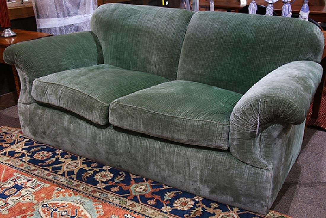 J.J Custom over stuffed custom upholstered sofa - 2