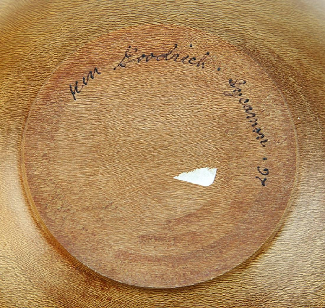 Ken Goodrich wood turned bowl executed in sycamore - 6