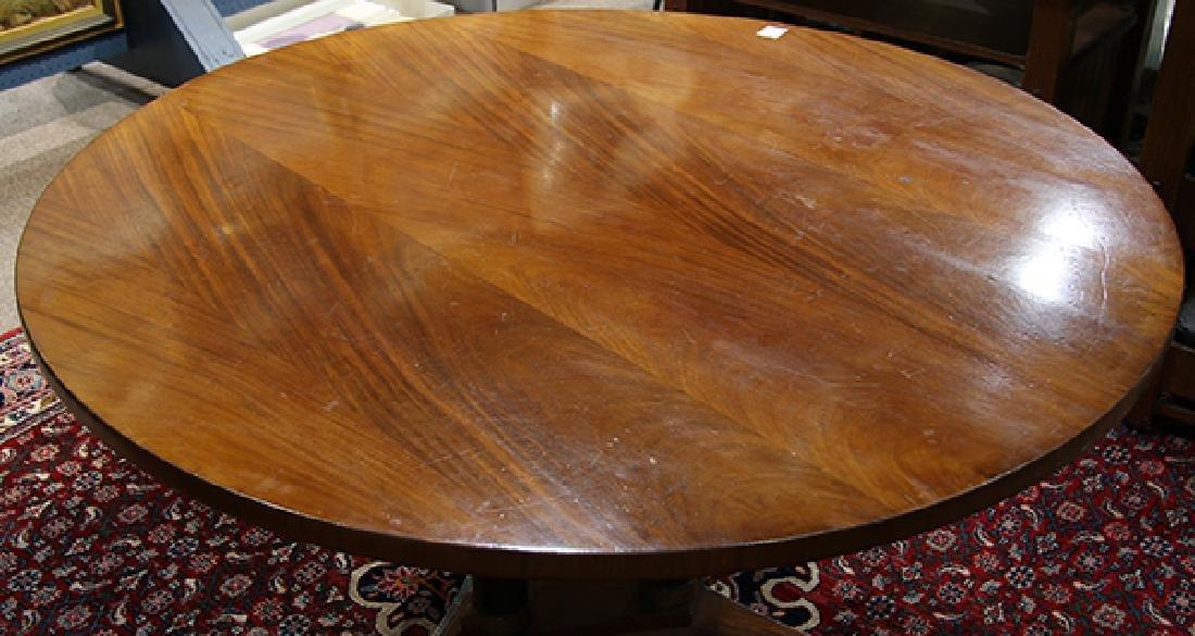 Austrian Biedermeier style mahogany center table - 3