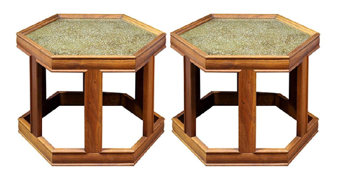 John Keal for Brown Saltman occasional tables