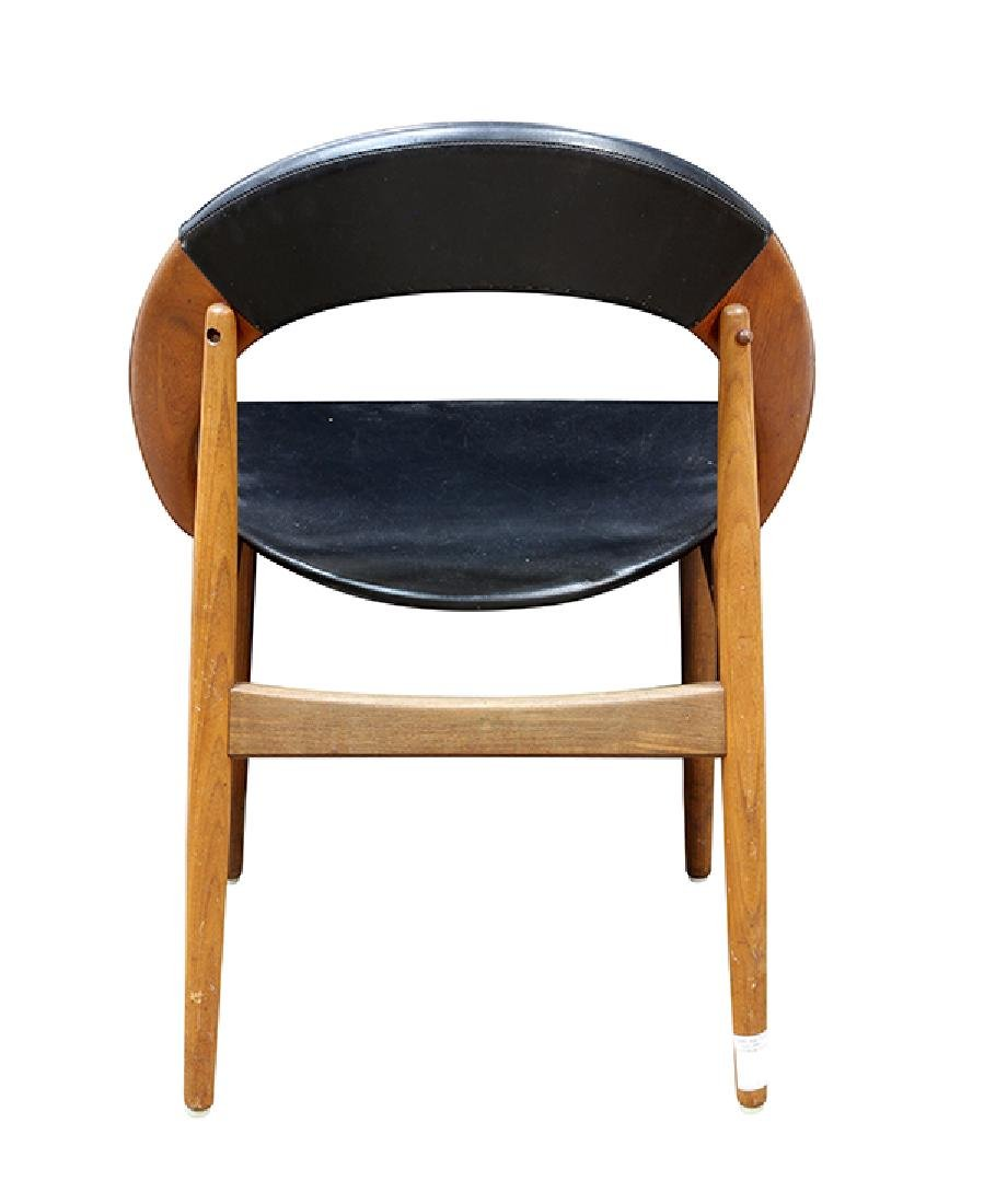 (lot of 6) Danish Modern dining chairs - 4