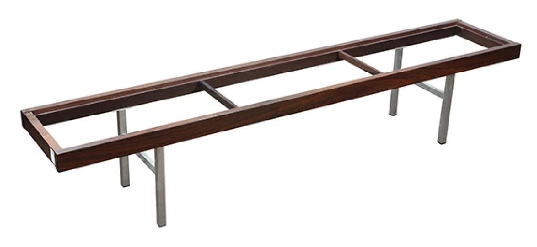 Mid Century rosewood low table - 4