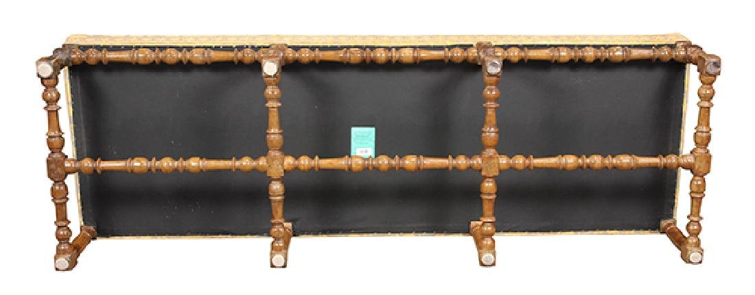 William and Mary style window bench - 3