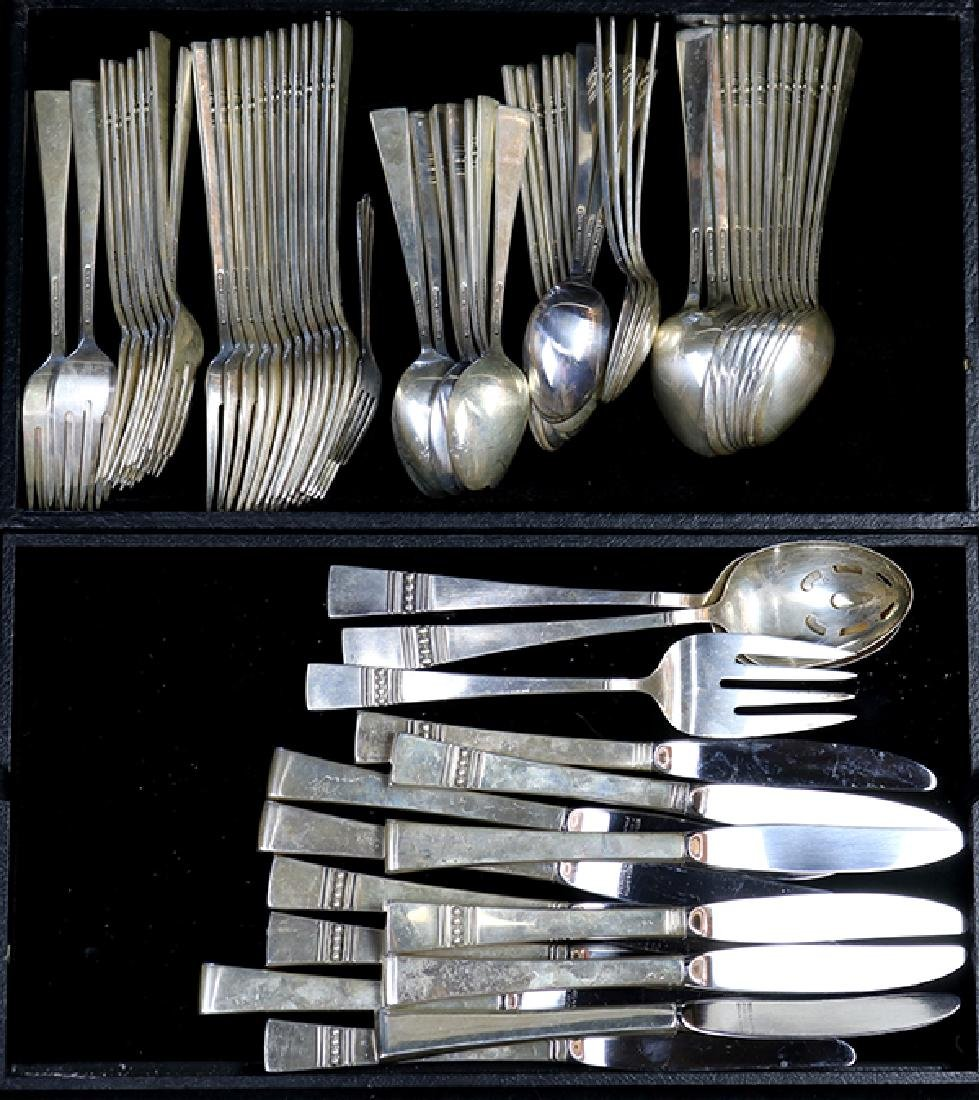 (lot of 75) Reed & Barton sterling flatware